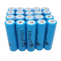 20X 18650 3.7V 5000mAh Li-ion Rechargeable Battery For Flashlight Torch Laser
