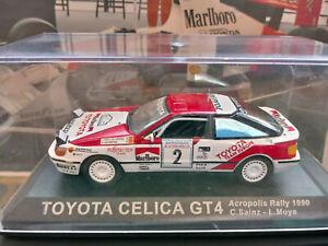 "1/43 Toyota Celica GT4 Carlos Sainz Acropolis Rally 1990 by Altaya ""Marlboro"""