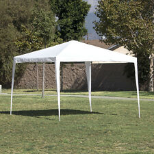 10'x10' White Outdoor Canopy Party Wedding Tent Gazebo Pavilion Event Cater BBQ