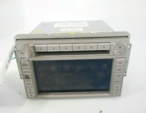 07 Lincoln MKX AM FM AM/FM Radio CD Disc Navigation Player Receiver OEM