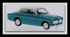 wonderful modelcar VOLVO Amazon 2-DOOR 1966 - turquoise/white - HO-scale 1/87