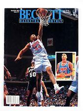 Beckett BASKETBALL MONTHLY #17 December 1991 Coleman/Barkley/Brown/Mullin