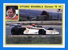 SUPER AUTO - Panini 1977 -Figurina-Sticker n. 15 - VITTORIO BRAMBILLA -New
