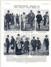 1929 einer Nerman caricatures Billington Herts essais Miss Gosling