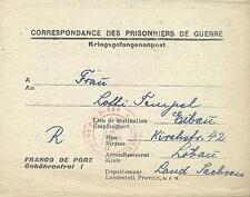 POW Camp 133 Brioude France 1947 German Prisoner of War Kriegsgefangenenpost 4