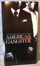 AMERICAN GANGSTER Film Press Program Denzel Washington Russell Crowe 2007