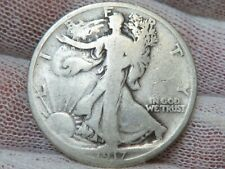 1917 P Silver Walking Liberty Half Dollar