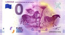 24 LASCAUX Les chevaux chinois, 2018, Billet 0 € Souvenir
