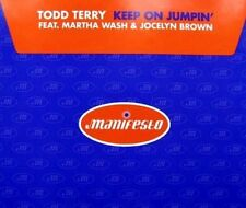 Todd Terry Keep on jumpin' (5 versions, 1996, feat. Martha Wash & Jo.. [Maxi-CD]