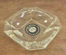 AIRPORT - MARINA  HOTEL  Heavy Glass Ashtray - Los Angeles International Airport