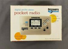 Sangear Discovery Channel DT110 Digital AM/FM Pocket Radio NEW Fast Shipping