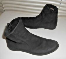 Arche France ~ Art to Wear ~ Black Backzip Comfy Ankle Boots ~ 38
