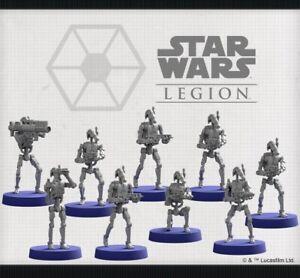 star wars legion clone wars B1 Battle Droids from core set
