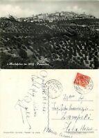 Cartolina di Montefalco, panorama - Perugia, 1954