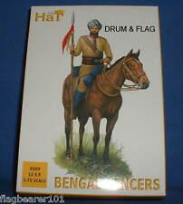 HAT SET 8289 - COLONIAL BENGAL LANCERS - 1:72 SCALE UNPAINTED PLASTIC FIGURES