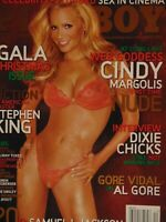 Playboy December 2006 Gala Christmas | Cindy Margolis Kia Drayton   #1035 +