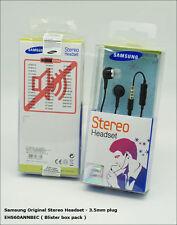 In scatola ufficiale SAMSUNG EHS-60 in-ear Auricolari Cuffie con microfono in linea (nero),