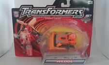 Transformers RID 2001 WEDGE MOSC landfill combiner figure