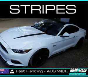 fits 2016-2018 FORD Mustang bonnet stripes decals stickers