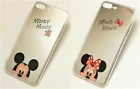 Funda Trasera Para iPhone Tipo Espejo - Mickey Minnie - iPhone 7 8 PLUS  X XS XR