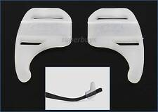 White Silicone Glasses Eyeglasses Frames Grip, Better than a Strap Cord String S