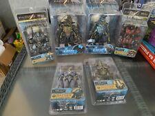 "Neca Pacific Rim Kaiju Knifehead Deluxe 10, 7.5"" action figure lot of 6 Jaeger"