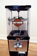 vintage gumball machine Harley Davidson motorcycle candy nuts machine