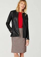 9eac93d56af Faux Leather Black Plus Size Coats   Jackets for Women for sale