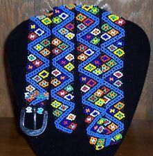 Multi Colored Beaded Belt