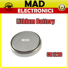 CR1220 Lithium Button Cell Battery 3V for Watch Thermometer Calculator and More