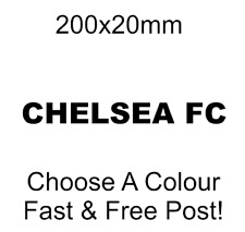 Chelsea Fc decal sticker car sticker car van sticker CFC