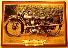 BROUGH SUPERIOR  SS100 SS 100 CLASSIC VINTAGE MOTORBIKE 1926 PICTURE 1920'S