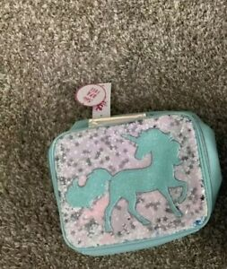 Justice Girls Unicorn Sequin Shaky Lunch Tote
