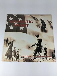 Agnostic Front - Liberty & Justice For LP COMBAT Records