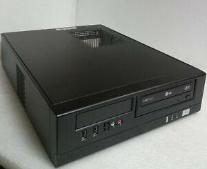 Chenbro PC-71169 - H05 Slim Micro ATX Gehäuse schwarz  Inkl. Netzteil + DVD / RW