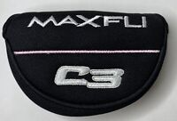 Maxfli C3 Pink Stripe Mallet Putter Golf Club Head Cover New Free Shipping