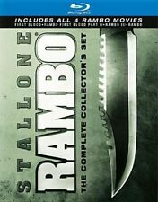 Rambo Complete Collection 0012236110453 With Reynaldo Gallegos Blu-ray Region a