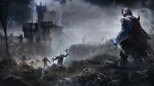 """006 Middle Earth Shadow of War - Army Orc Fight Game 42""""x24"""" Poster"""