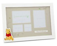 Disney Store Winnie the Pooh First Year Baby Photo Picture Frame Nursery Decor