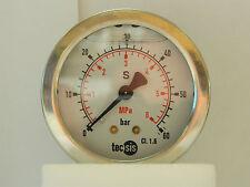 Pressure gauge 63mm 60bar rear entry