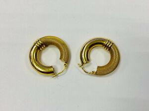 Ohrringe, Gold 585, je 2,40g, ca. 2,5cm groß (44081)