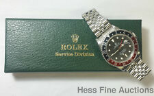 16760 Rolex GMT Master II Stainless Steel Mens Genuine Watch w Box