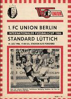 IFC 19.07.1986 1. FC Union Berlin - Standard Lüttich, InterToto Cup