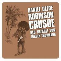 GROßE GESCHICHTEN-NEW ERZÄHLT: ROBINSON CRUSOE CD NEW!!