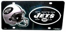 NFL License Plate New York Jets football Auto Tag New  aluminum car tag LP-0731
