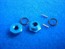 Sechskantmitnehmer Radnaben blau +1mm SUPER FIGHTER G