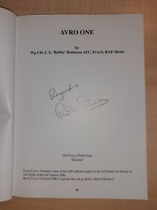 Avro One: Autobiography of a Chief Test Pilot - SIGNED COPY