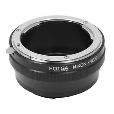 FOTGA Adapter Ring for Nikon AI Lens to Sony NEX E-Mount DLSR Camera Camcorder