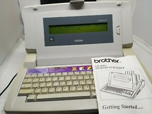 VINTAGE BROTHER WORD PROCESSOR LW-800 ic DESKTOP PUBLISHER RETRO TYPEWRITER