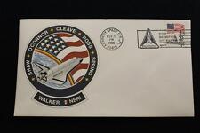 SPACE COVER 1985 SLOGAN CANCEL STS-61-B SHUTTLE ATLANTIS 1ST MEXICO ASTRONAUT(59